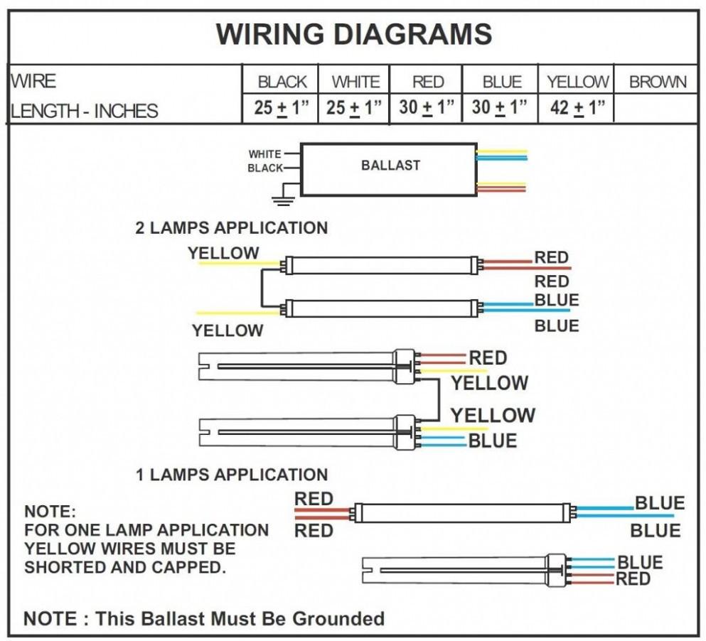 2 Lamp Ballast Wiring Diagram - Data Wiring Diagram Blog - 4 Lamp 2 Ballast Wiring Diagram