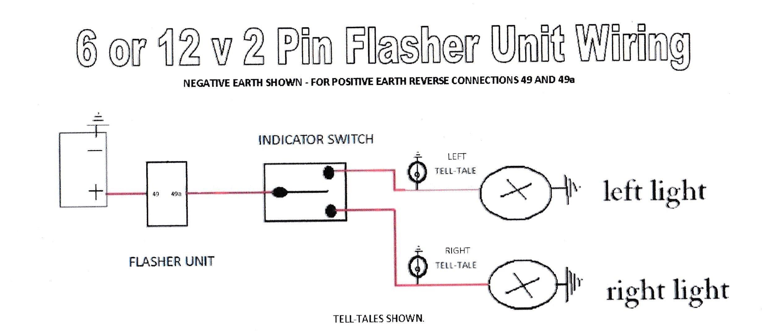 2 Pin Flasher Relay Wiring Diagram - Wiring Data Diagram - 2 Pin Flasher Relay Wiring Diagram