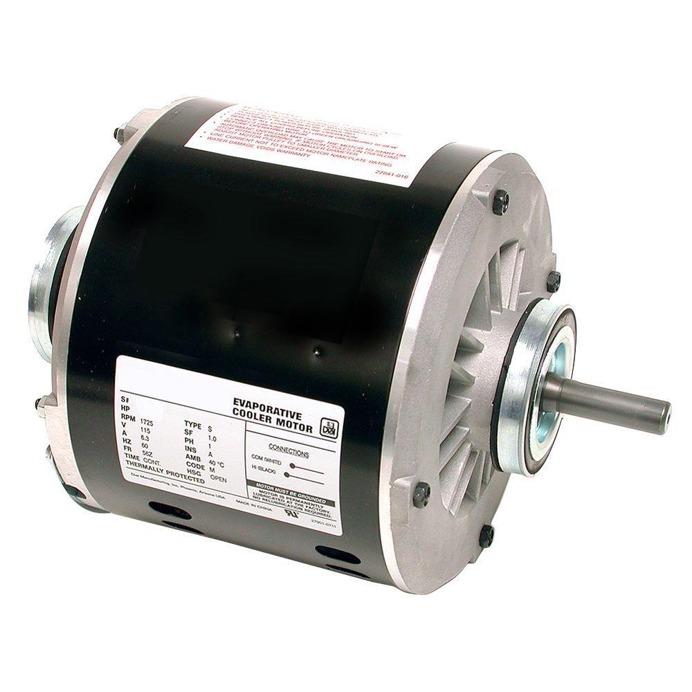 2-Speed 1/2 Hp Evaporative Cooler Motor-2204 - The Home Depot - Swamp Cooler Motor Wiring Diagram