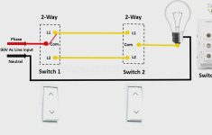 2 Way Light Switch Diagram In Engilsh |2 Way Light Switch Wiring In   2 Way Light Switch Wiring Diagram