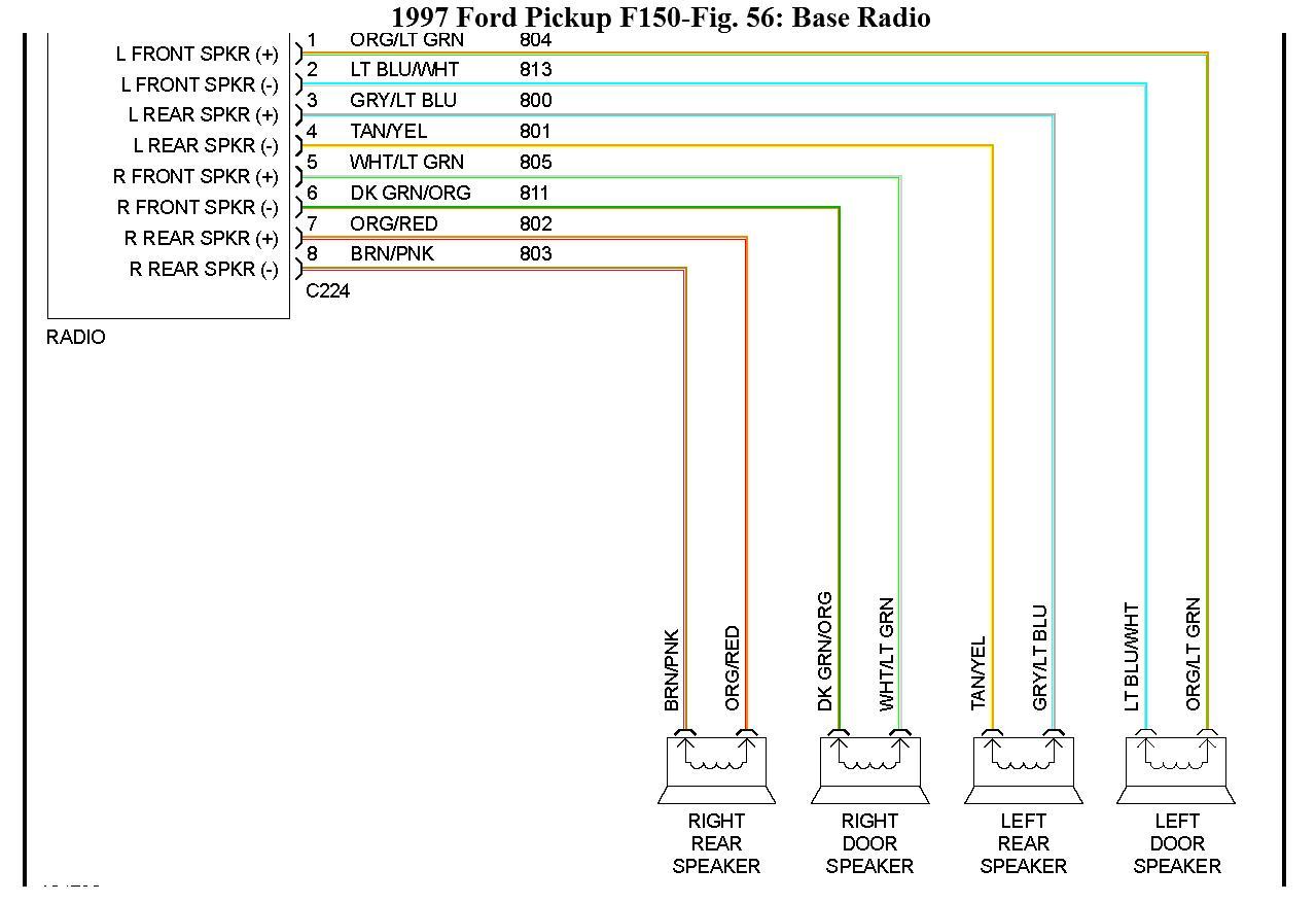 2004 Ford F 150 Radio Wiring Harness | Wiring Diagram - 1998 Ford F150 Radio Wiring Diagram