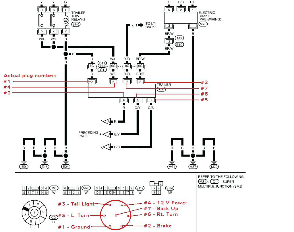 2004 Toyota Tacoma Trailer Wiring Diagram - Data Wiring Diagram Site - Toyota Tacoma Trailer Wiring Diagram