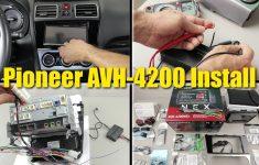 2017 Wrx Limited Stereo Upgrade   Pioneer Avh 4200 Nex Installation   Backup Camera Wiring Diagram