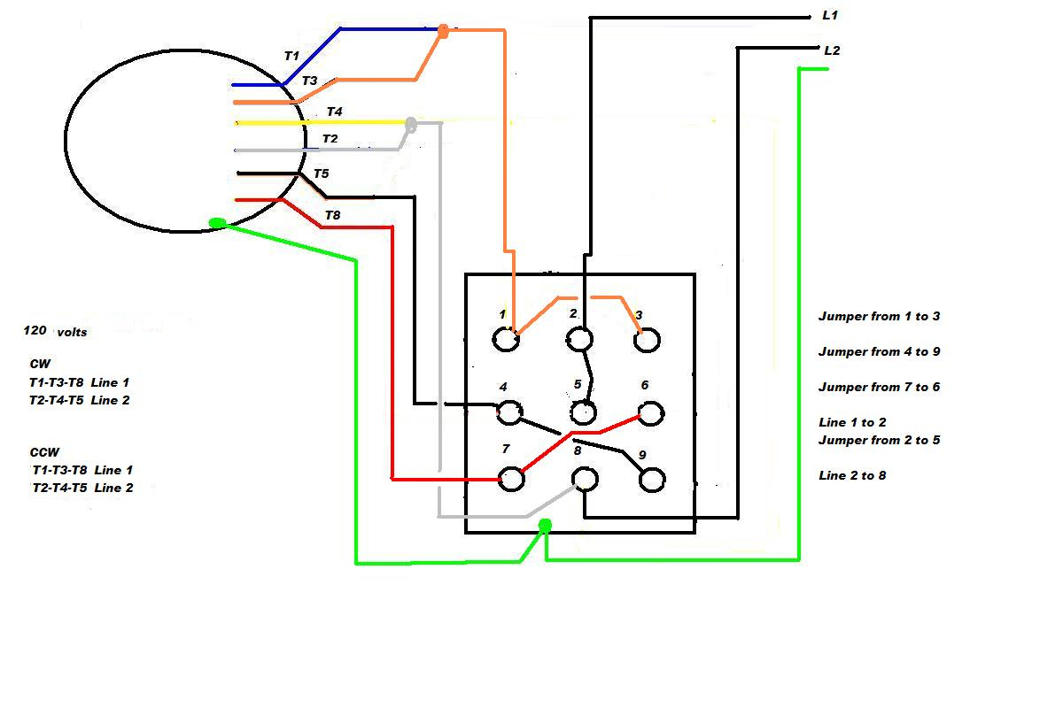 208 Volt Motor Capacitor Wiring Diagram | Manual E-Books - 208 Volt Single Phase Wiring Diagram