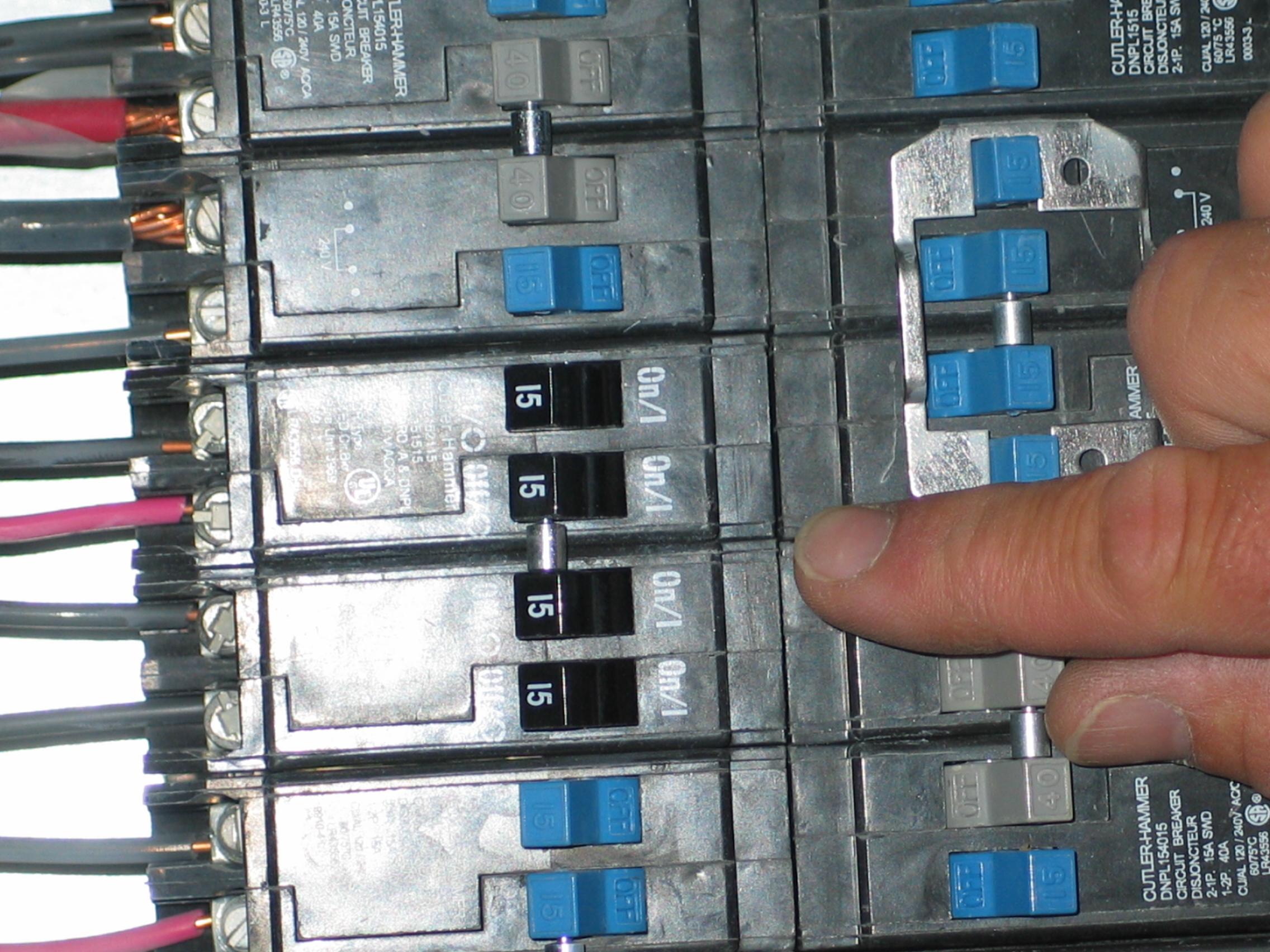 220-240 Wiring Diagram Instructions - Dannychesnut - Double Pole Circuit Breaker Wiring Diagram