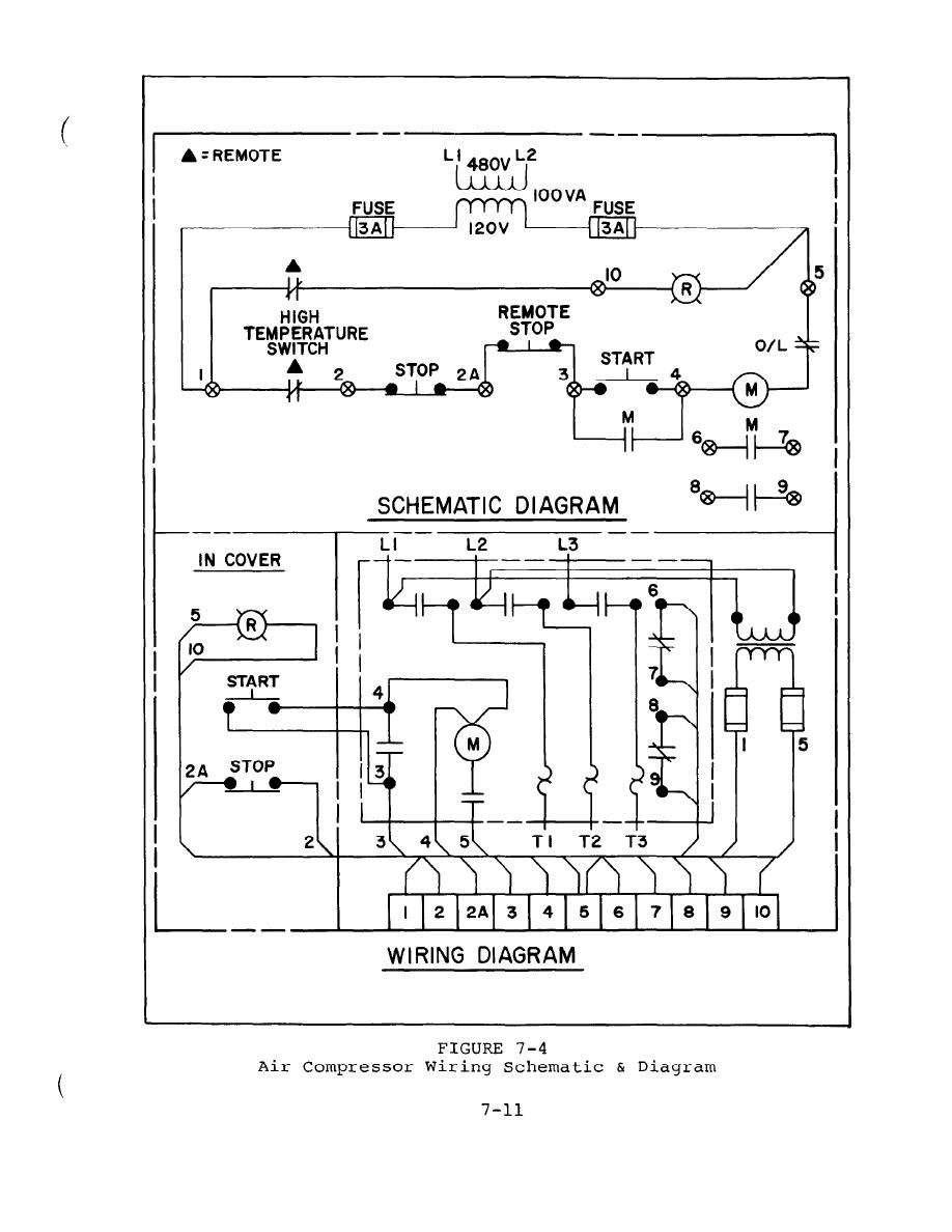 220 Air Compressor Wiring Diagram | Wiring Library - 220 Volt Air Compressor Wiring Diagram