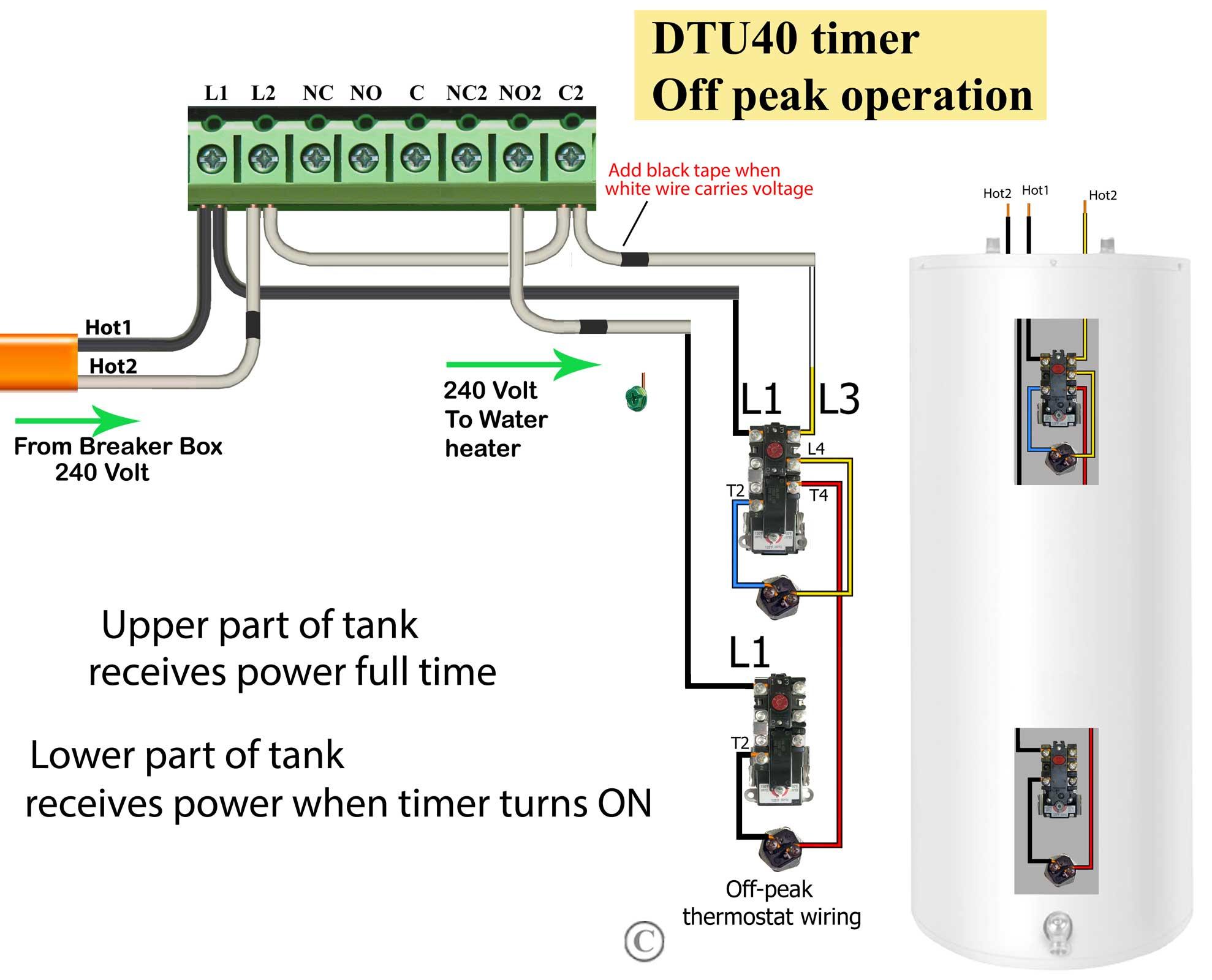 220 Volt Timer Wiring Diagram | Wiring Diagram - 220V Wiring Diagram