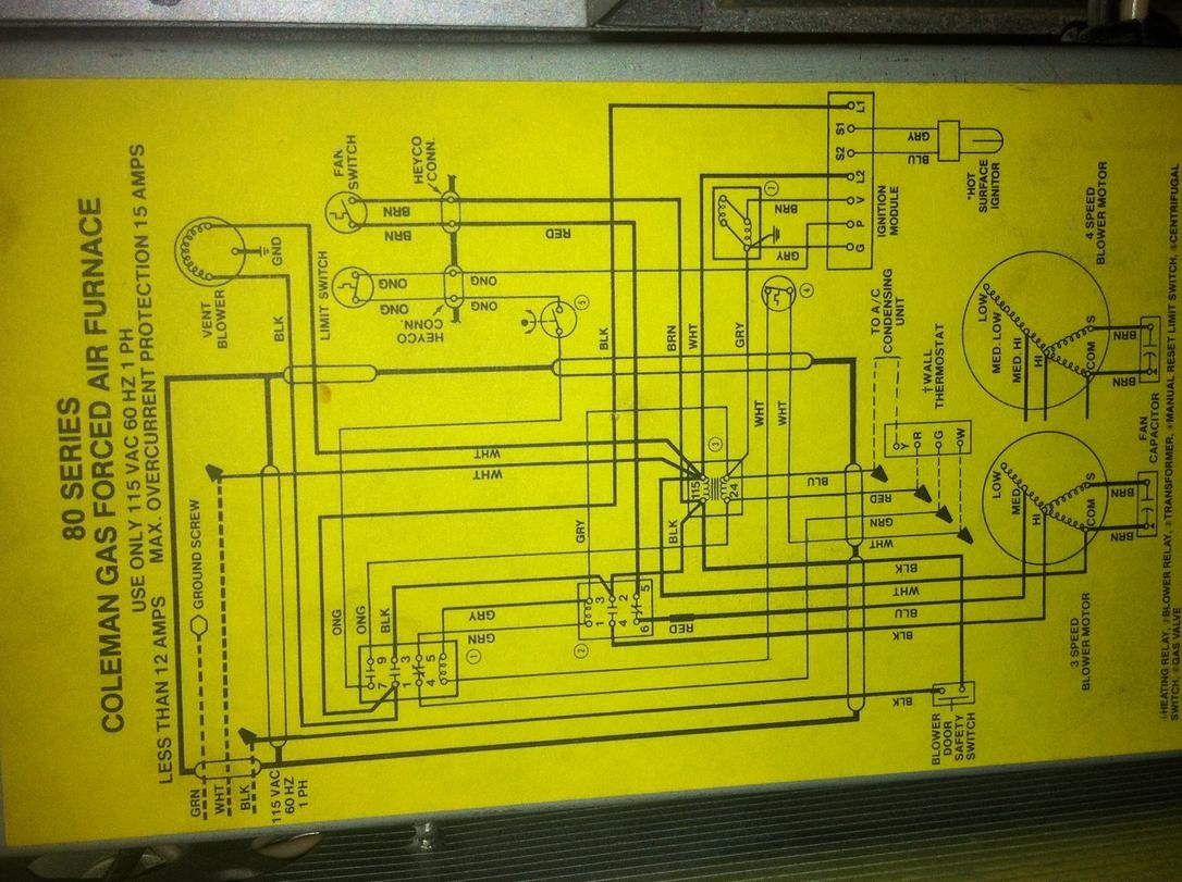 2366B Wiring Diagram Coleman | Wiring Library - Coleman Mobile Home Electric Furnace Wiring Diagram