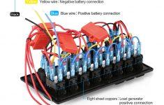 24V Boat Wiring Diagram   Wiring Library   12V Switch Panel Wiring Diagram