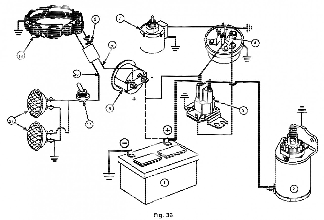 27 Hp Briggs And Stratton Wiring Diagram | Wiring Diagram - Briggs And Straton Wiring Diagram