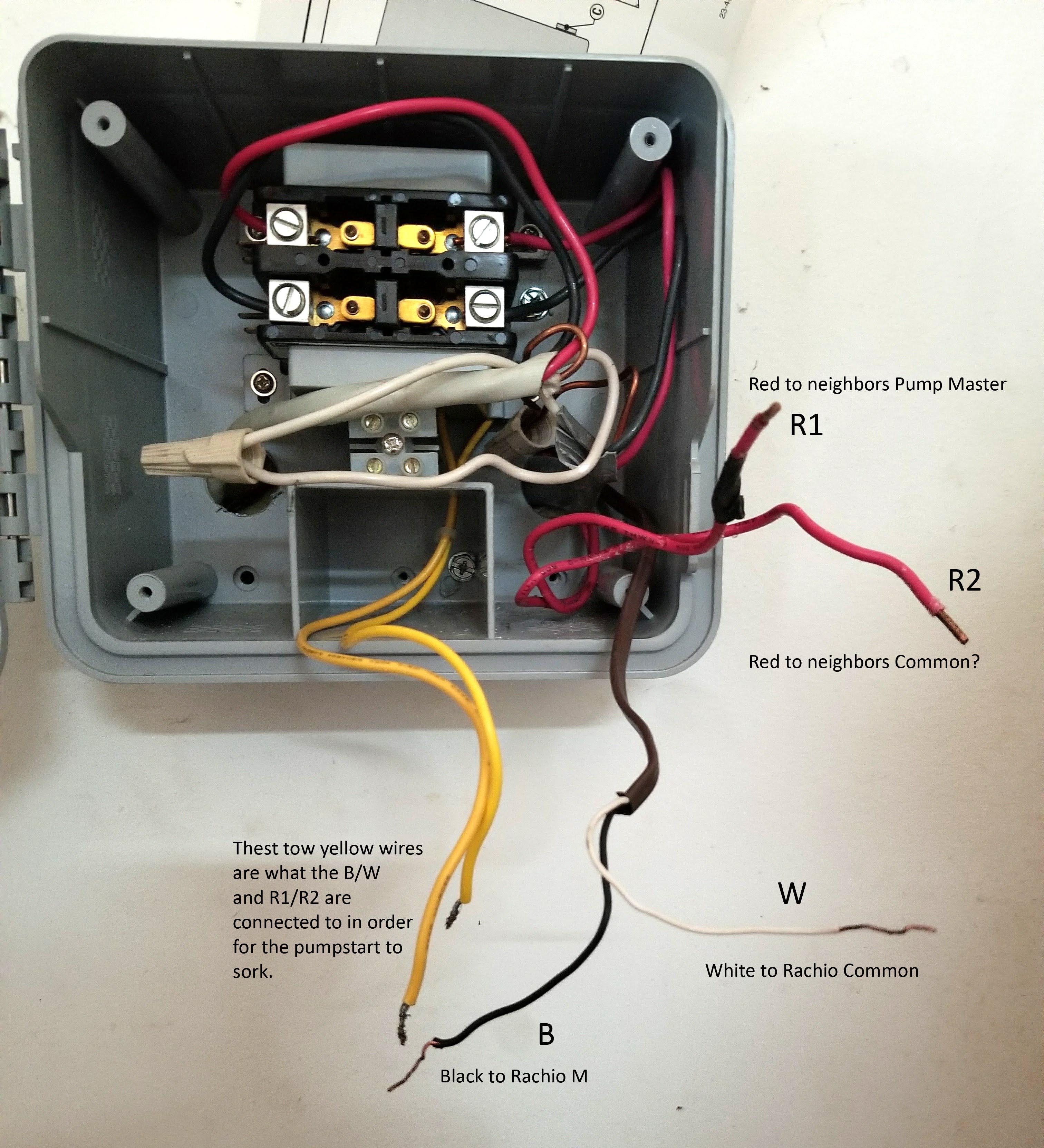 2Nd Gen Sharing A Pump Start Relay With A Hunter Controller - Pump Start Relay Wiring Diagram