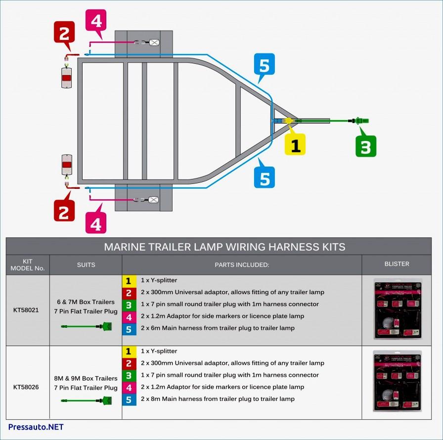 3 Flat Wiring Harness | Wiring Diagram - 4 Flat Trailer Wiring Diagram