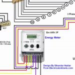 3 Phase Wiring Installation In House | 3 Phase Distribution Board   Single Phase House Wiring Diagram