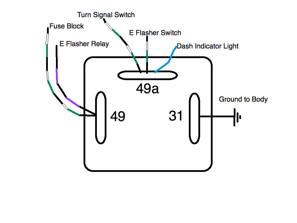 3 Pin Flasher Relay Diagram | Manual E-Books - 3 Pin Flasher Relay Wiring Diagram