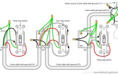 3 Types Of Light Switch Wiring | Guide For Beginners – 3 Way Switch Wiring Diagram Power At Switch