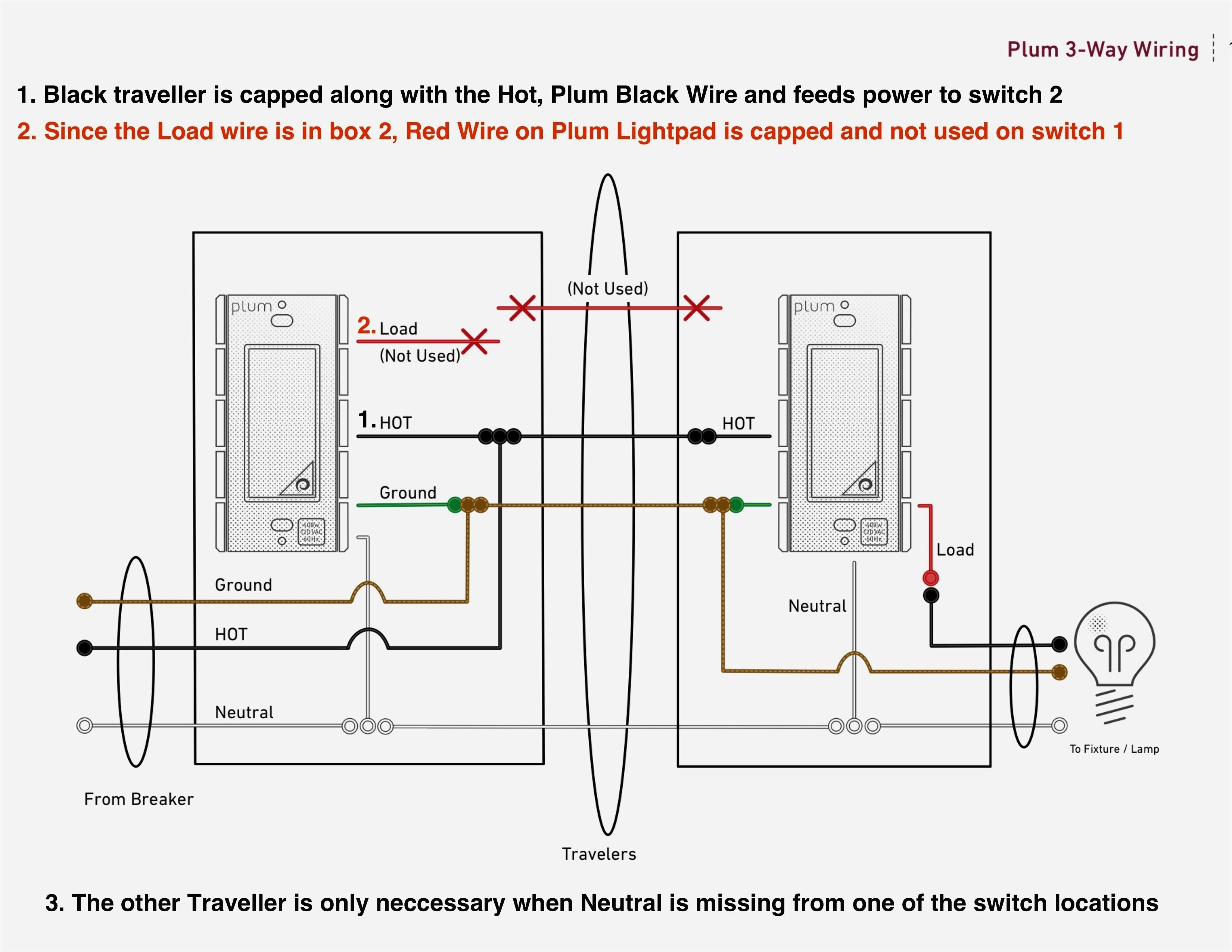 3 Way Lutron Skylark Dimmer Wiring Diagram | Manual E-Books - Lutron 3 Way Dimmer Switch Wiring Diagram