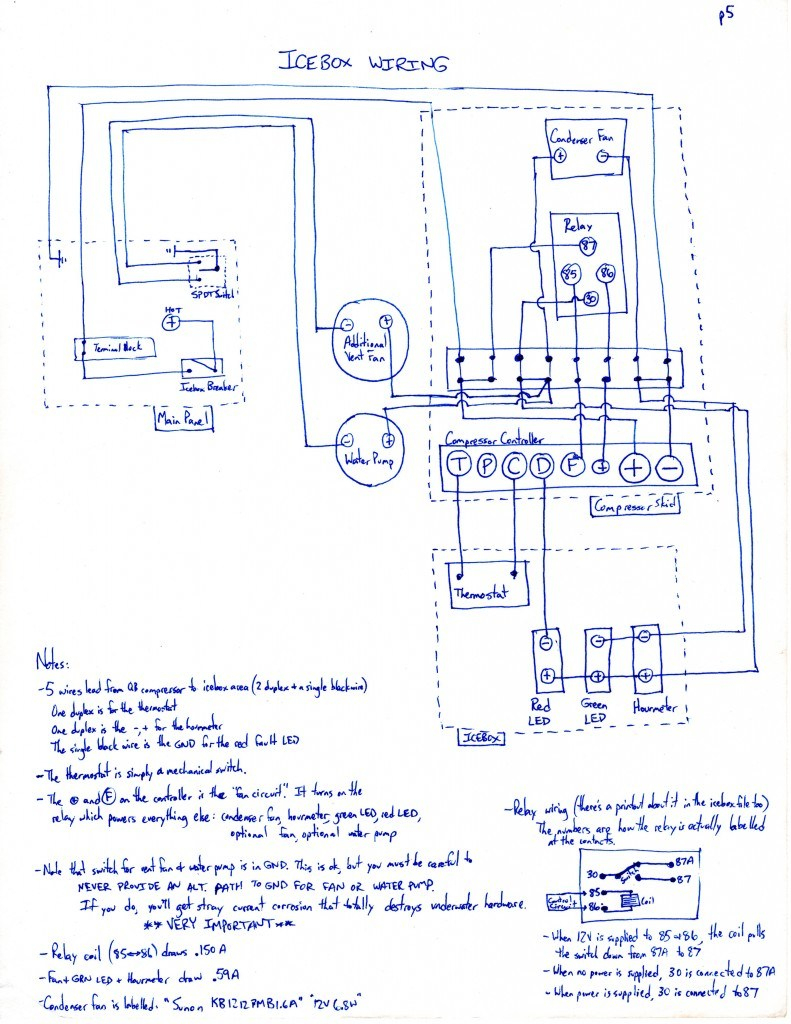3 Wire Compressor Diagram - Wiring Diagram Detailed - Compressor Wiring Diagram