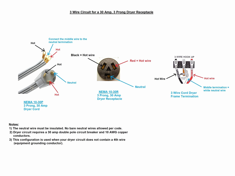 3 Wire Plug Wiring Diagram - Wiring Diagram Online - Receptacle Wiring Diagram