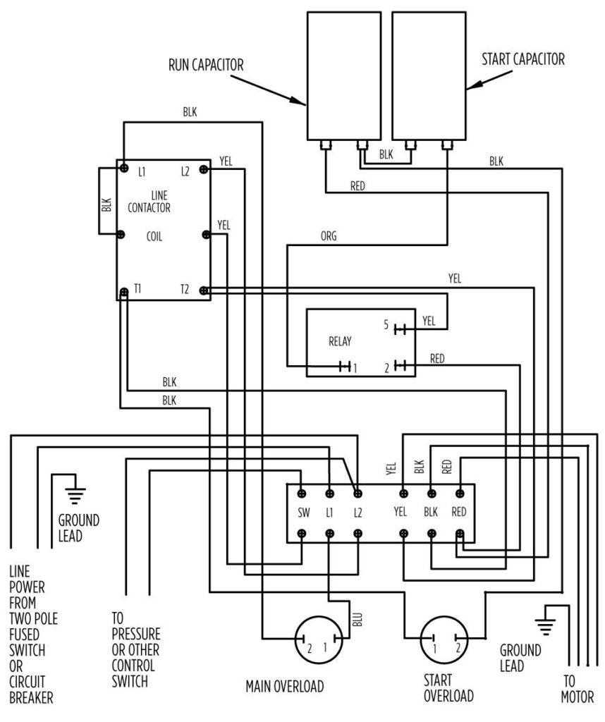 3 Wire Submersible Pump Wiring Diagram - Lorestan - 3 Wire Submersible Pump Wiring Diagram
