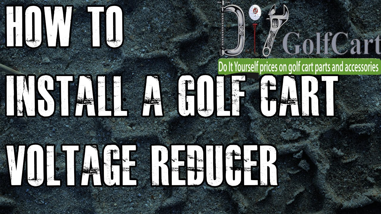 36 Or 48 Volt Voltage Reducer | How To Install Video Tutorial | Golf - Club Car Battery Wiring Diagram 36 Volt