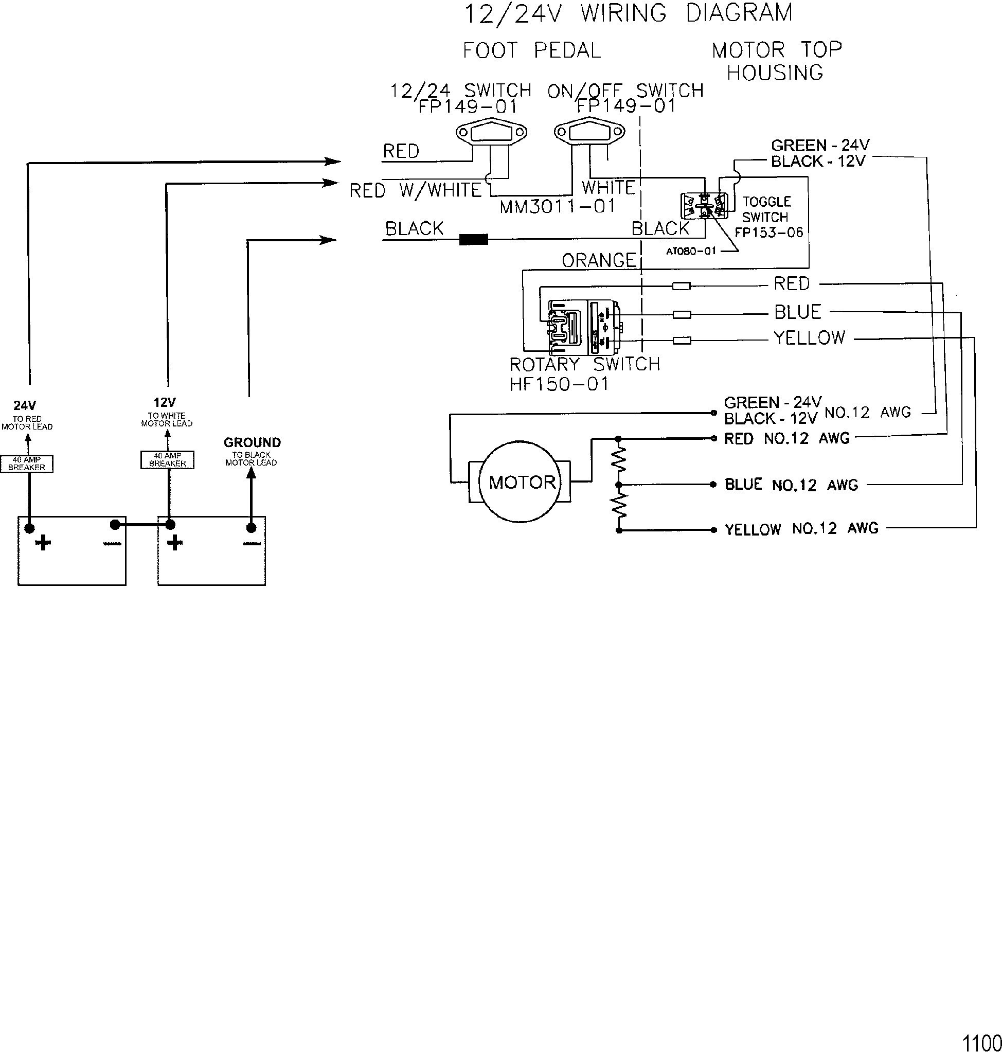 36 Volt Trolling Motor Wiring Diagram | Wiring Diagram - 12 24 Volt Trolling Motor Wiring Diagram