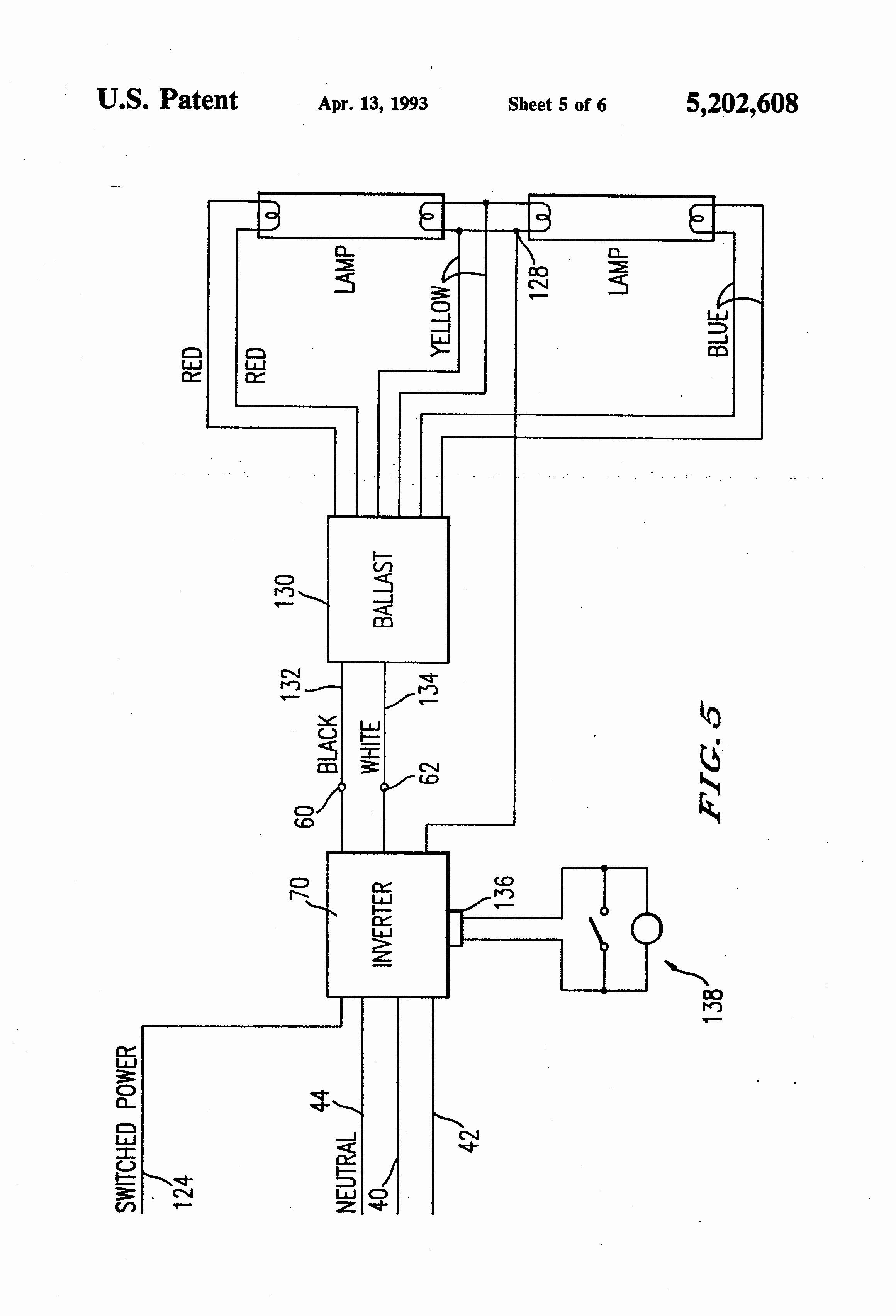 4 Foot Light Fixture Ballast Wiring Diagram   Wiring Diagram - 4 Lamp 2 Ballast Wiring Diagram