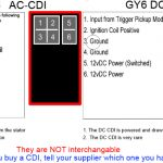4 pin cdi ignition wiring diagram | wiring library 6 pin cdi wiring  diagram