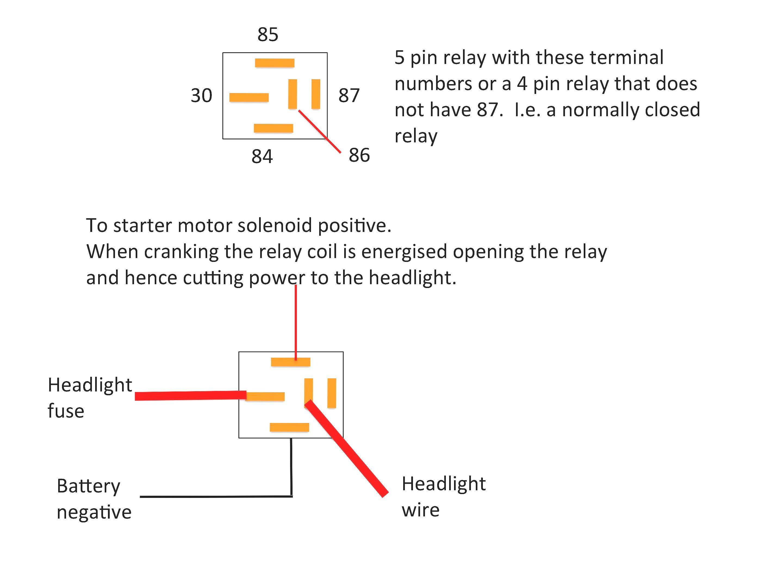 4 Pin Relay Wiring Diagram – Volovets - 4 Pin Relay Wiring Diagram