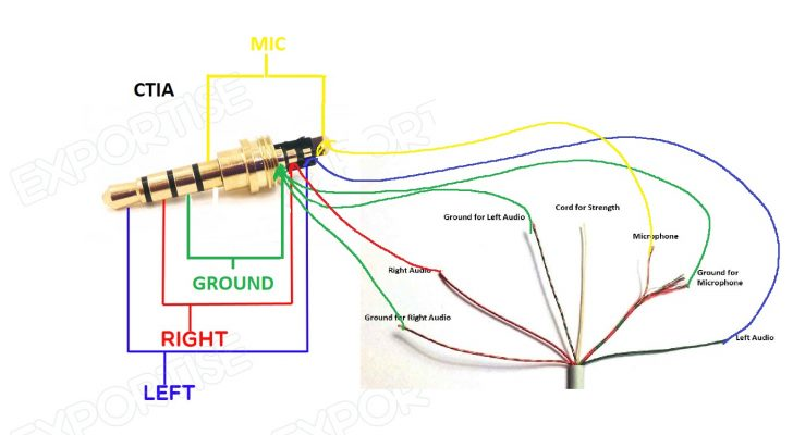 3.5 Mm Jack Wiring Diagram