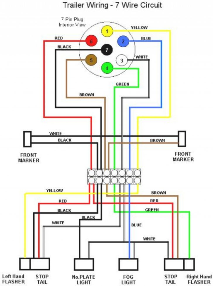 7 Pin To 4 Pin Trailer Wiring Diagram