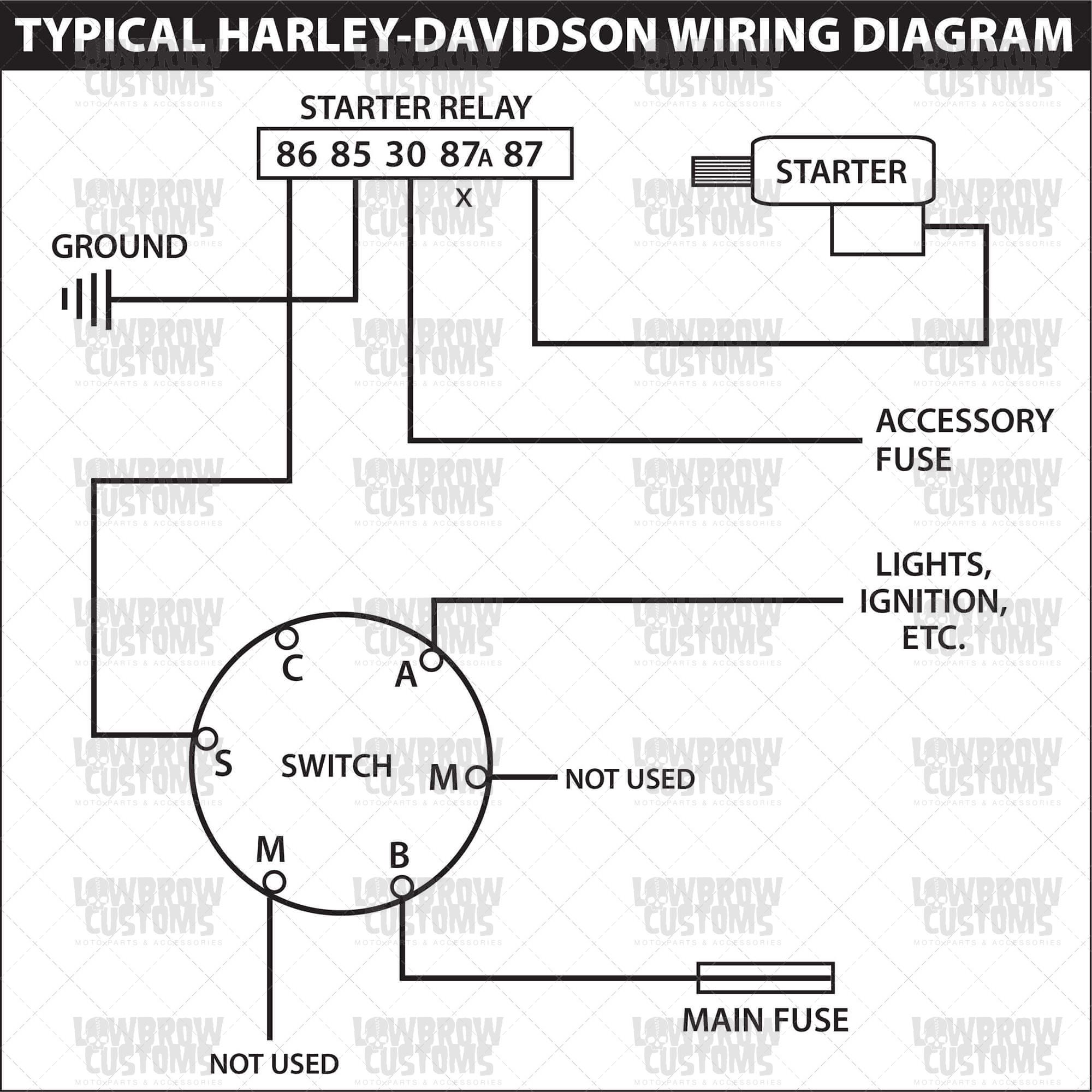 4 Wire Ignition Switch Wiring Diagram | Wiring Library - Motorcycle Ignition Switch Wiring Diagram