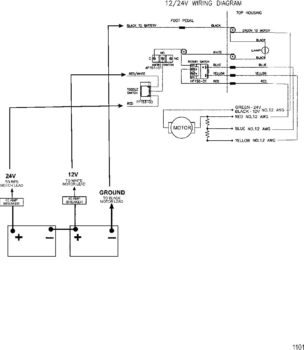 4 Wire Minn Kota Wiring Diagram - Wiring Diagram Online - 24 Volt Wiring Diagram