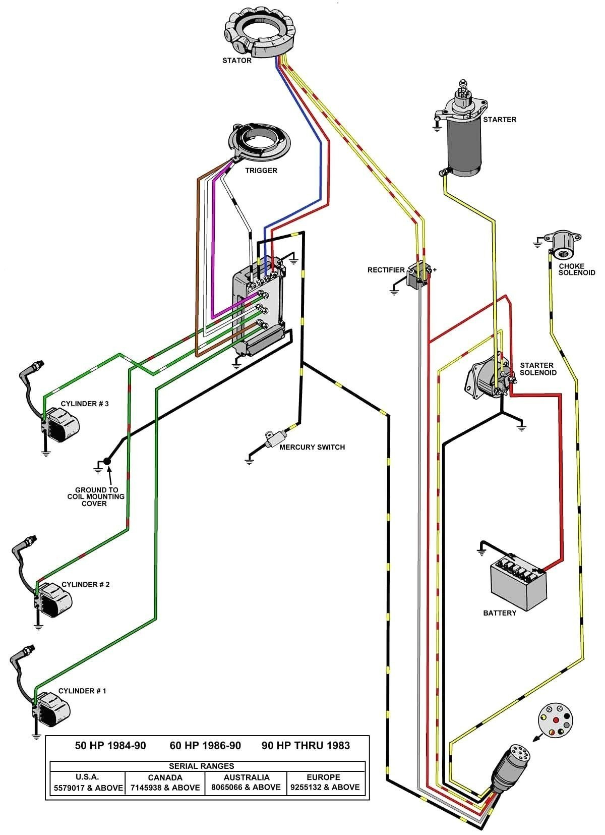 40 Hp Mercury Outboard Wiring Diagram Hecho | Wiring Diagram - Mercury Outboard Rectifier Wiring Diagram