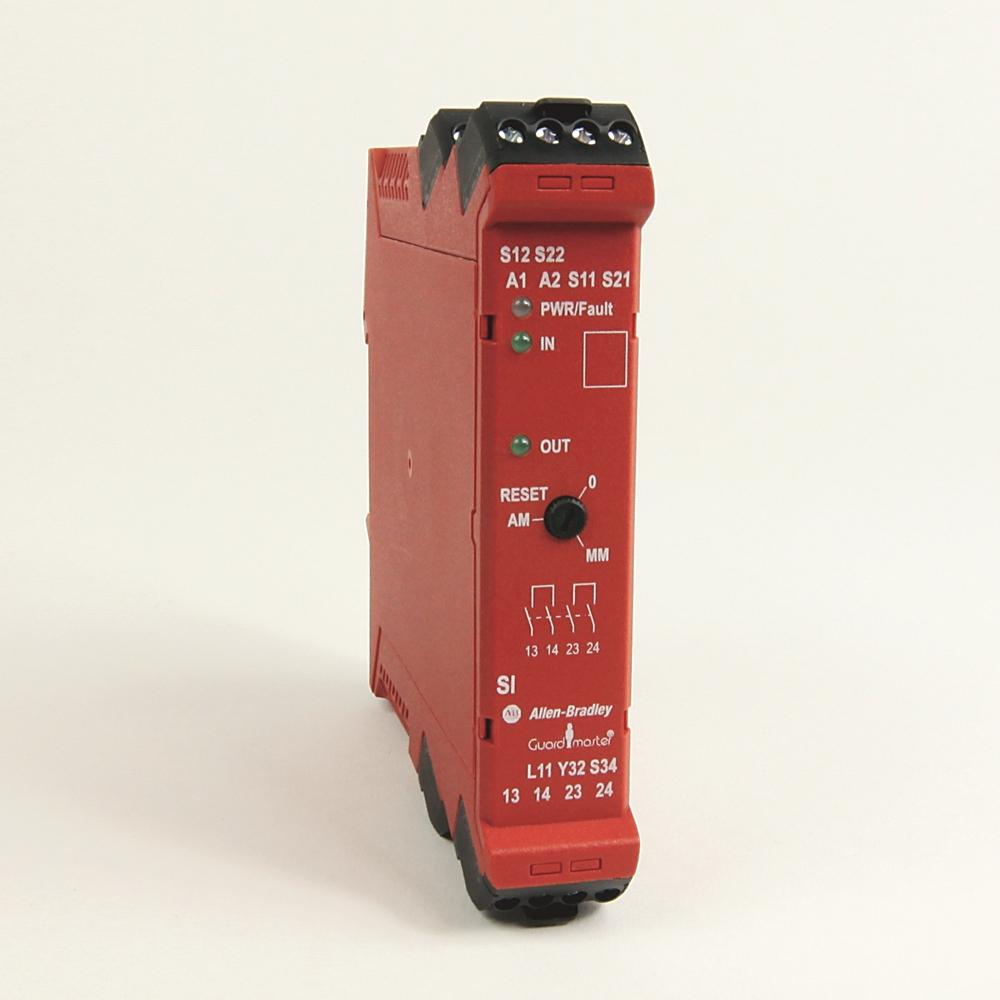 440R-S12R2 Ab Guardmaster Safety Relay, Single Input Pn-114859 - Allen Bradley Safety Relay Wiring Diagram