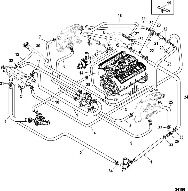 Mercruiser 5.7 Wiring Diagram