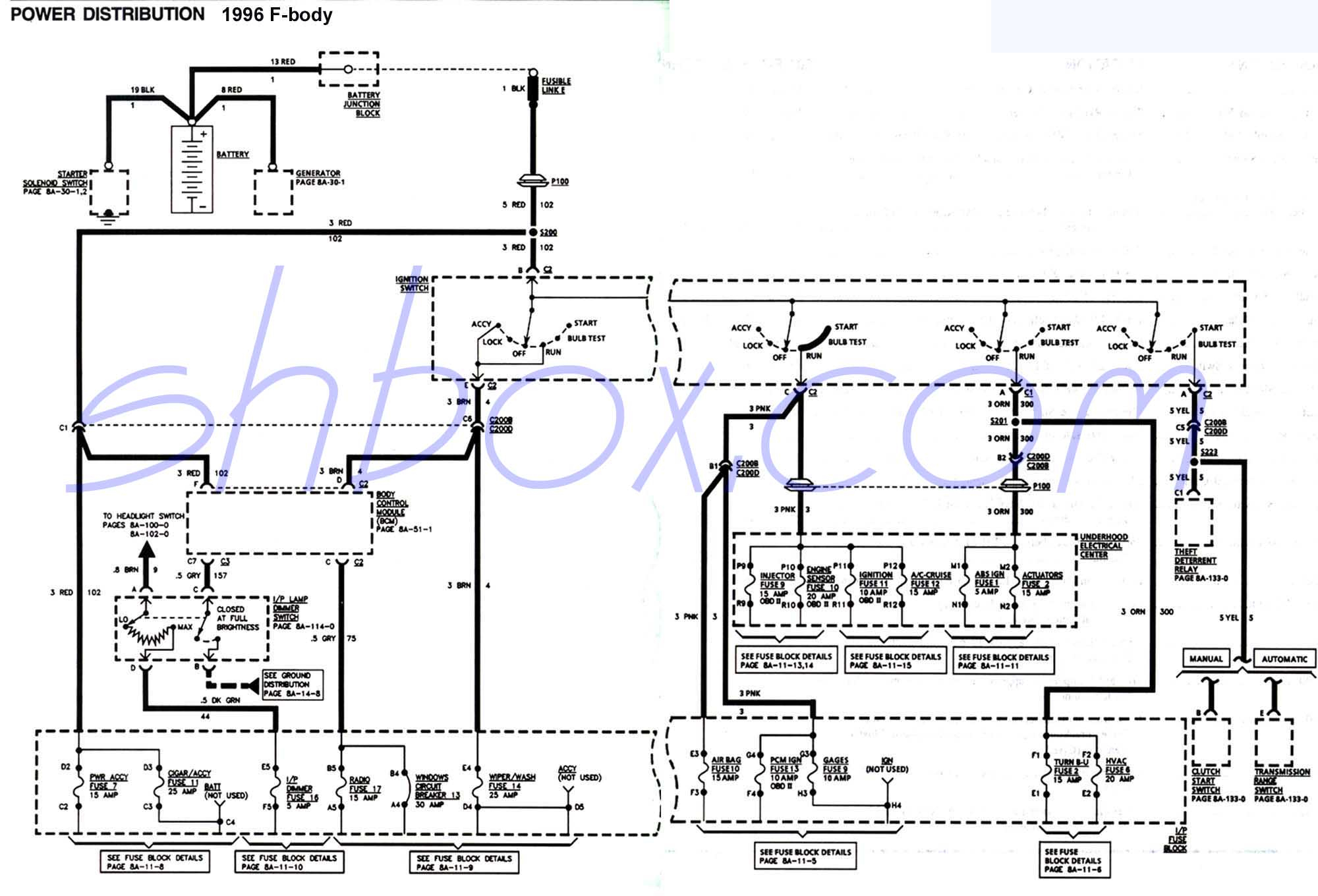 4Th Gen Lt1 F-Body Tech Aids - Hei Conversion Wiring Diagram