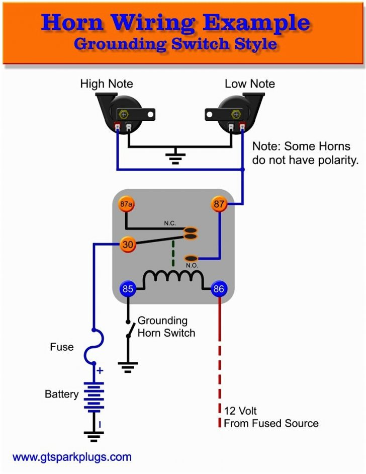 4 Prong Relay Wiring Diagram