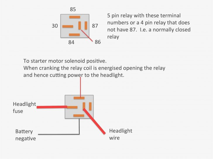 4 Pole Solenoid Wiring Diagram