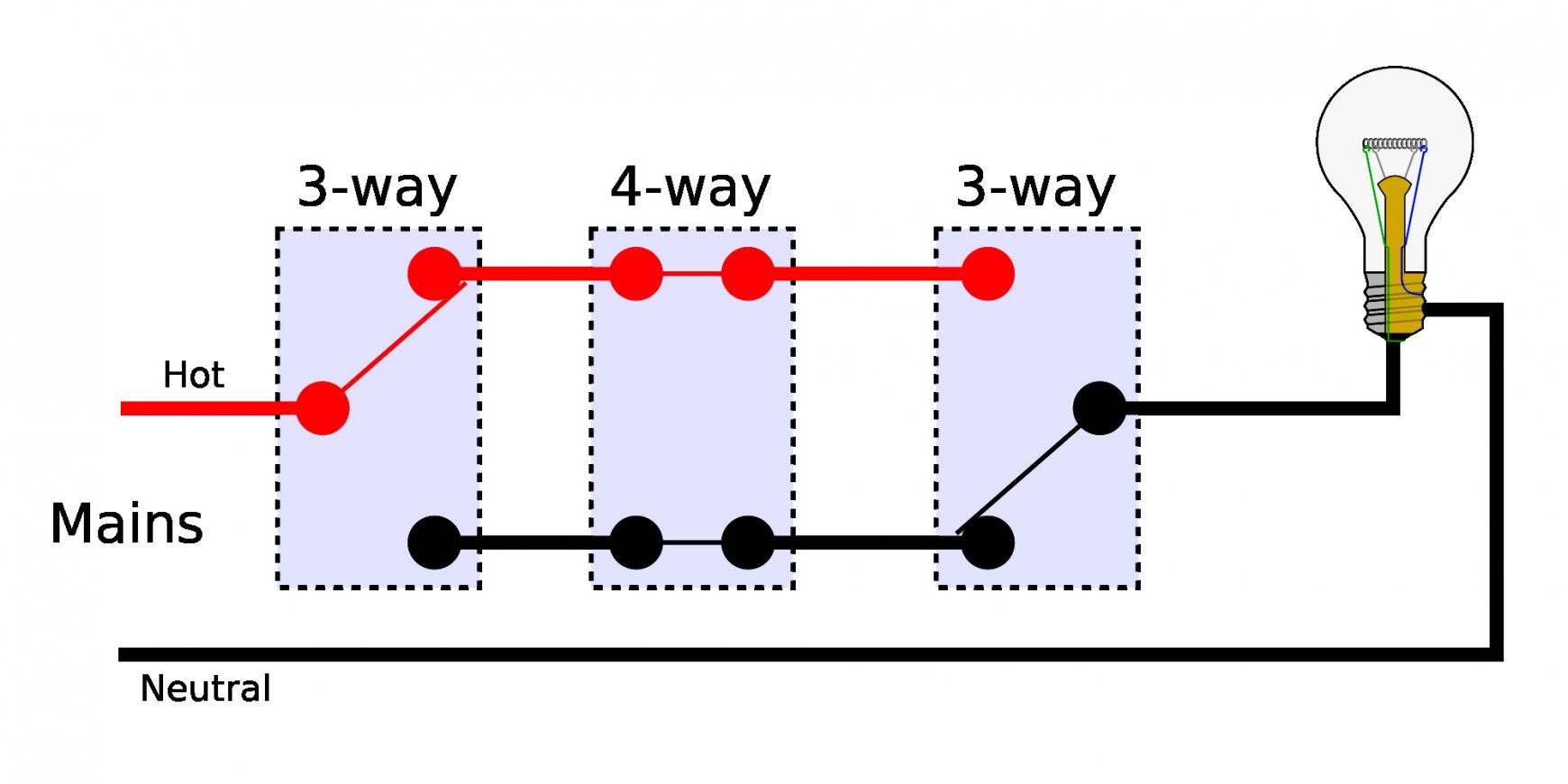 5 Way Switch Light Wiring Diagram - Wiring Diagram Database - 4 Way Switch Wiring Diagram Multiple Lights