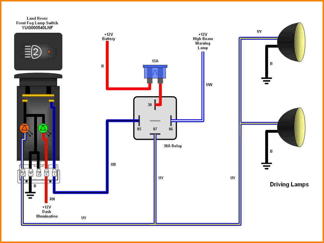 5 Wire Relay Wiring - Wiring Diagram Blog - 4 Prong Relay Wiring Diagram