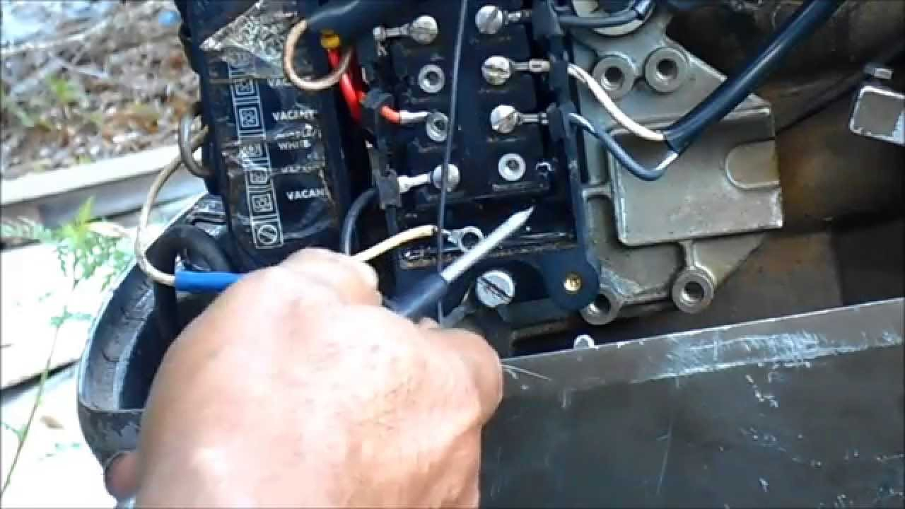 50 Hp Evinrude Power Pack Wiring Diagram | Wiring Diagram - Johnson Outboard Ignition Switch Wiring Diagram