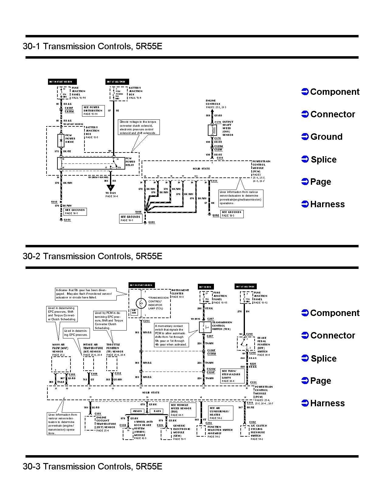 5R55W Wiring Diagram | Wiring Diagram - 4R70W Transmission Wiring Diagram