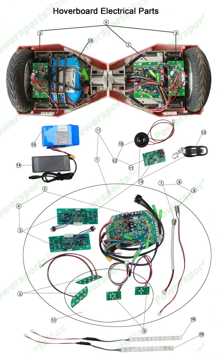 Hoverboard Wiring Diagram