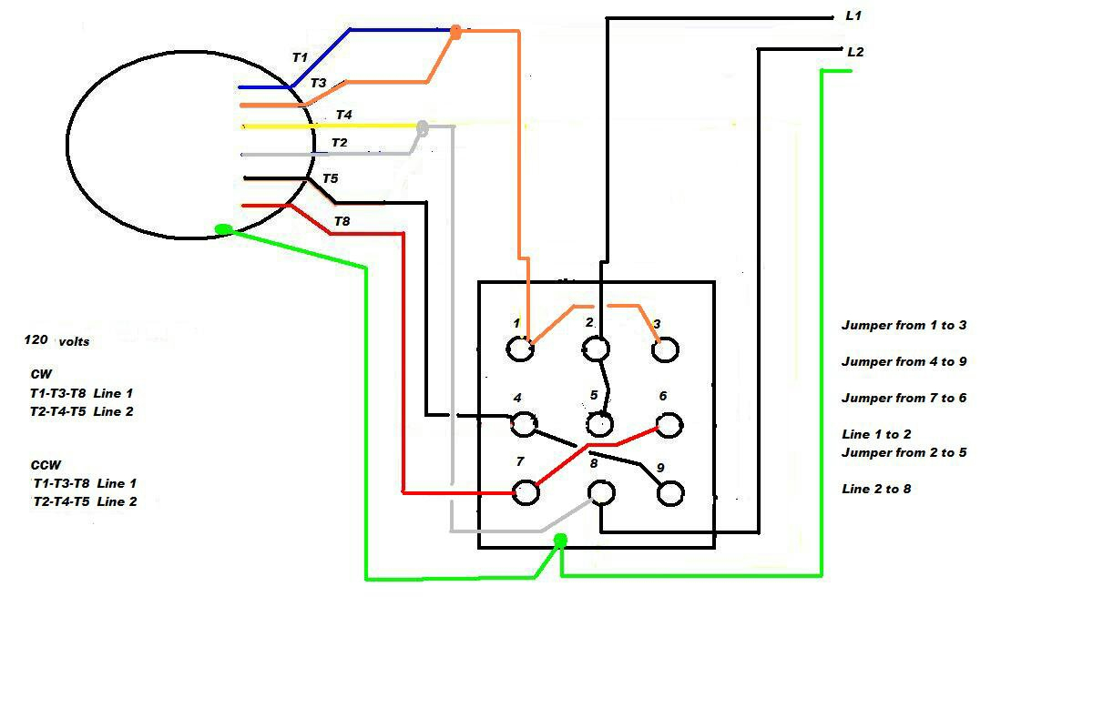 6 Lead Motor Wiring Diagram Dc | Manual E-Books - 6 Lead Single Phase Motor Wiring Diagram