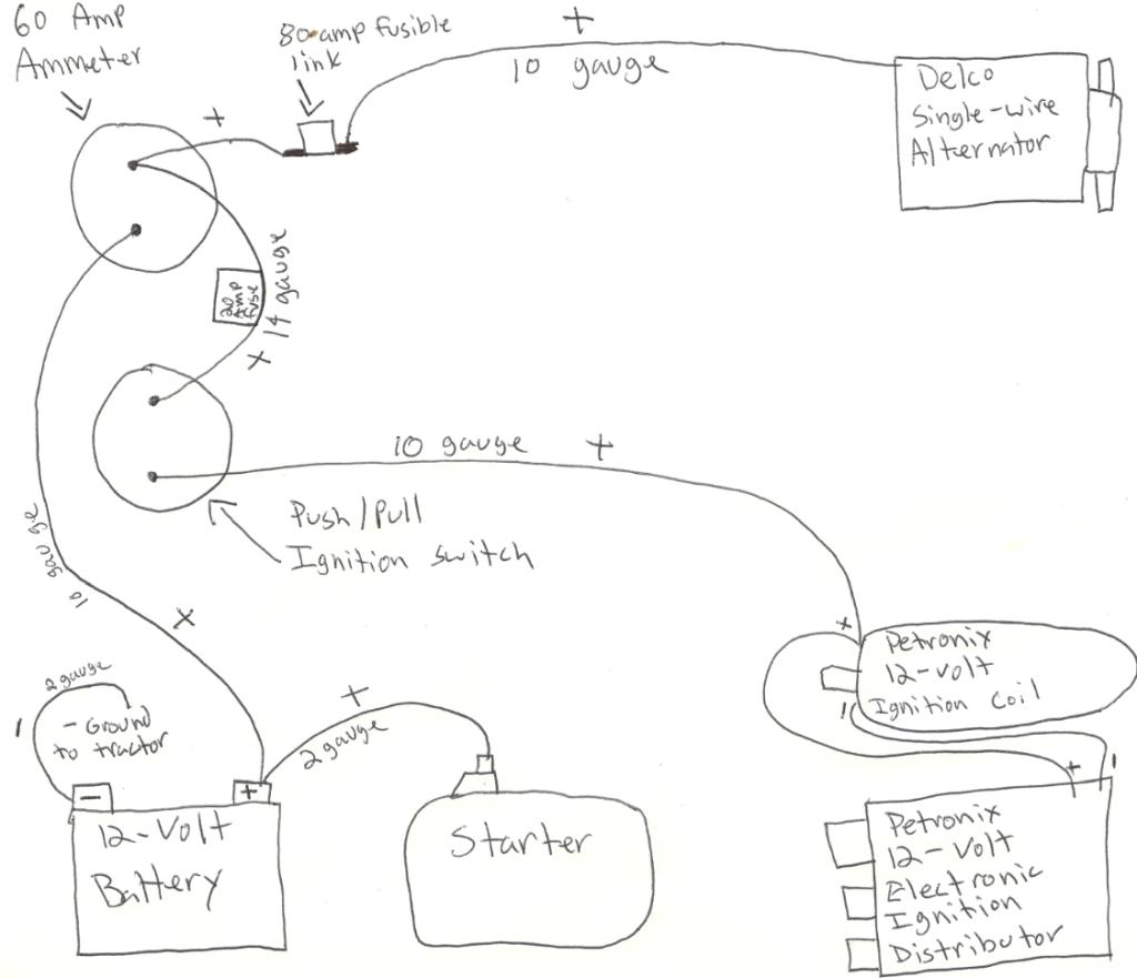 6 Volt To 12 Volt Conversion Wiring Diagram   Wiring Diagram - 6 Volt To 12 Volt Conversion Wiring Diagram