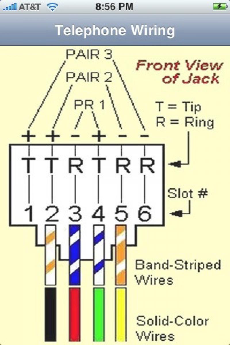 6 Wire Rj11 Pinout | Wiring Library - Rj45 To Rj11 Wiring Diagram