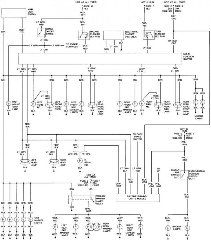 7.3 Glow Plug Relay Wiring Diagram