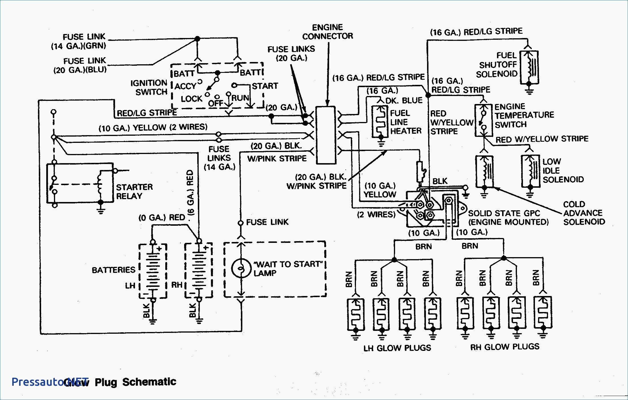 7.3 Idi Glow Plug Relay Wiring Diagram Archives - Kobecityinfo - 7.3 Idi Glow Plug Controller Wiring Diagram