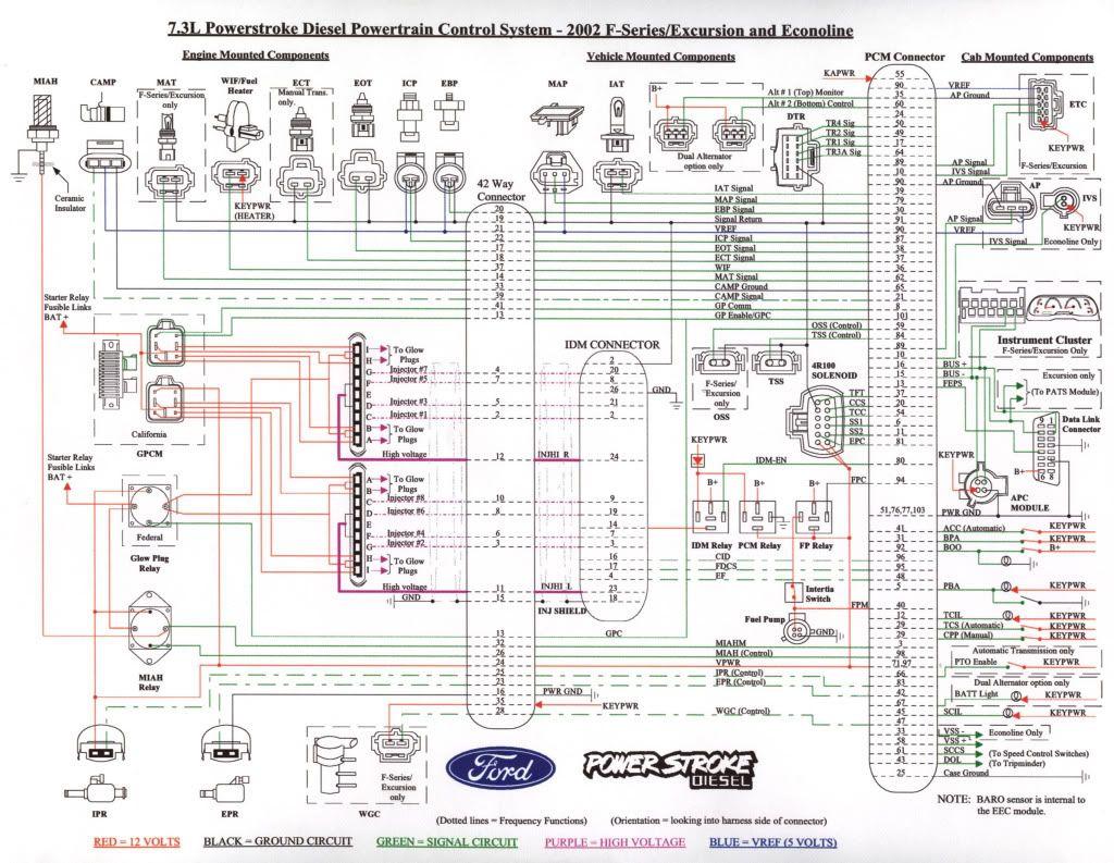 7.3 Powerstroke Wiring Diagram - Google Search   Work Crap   Ford - 7.3 Powerstroke Wiring Diagram