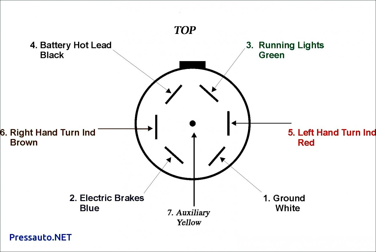 7 Pin Wiring Harness - Data Wiring Diagram Schematic - Trailer Light Wiring Diagram 7 Way